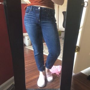 Dark wash American Eagle jeans